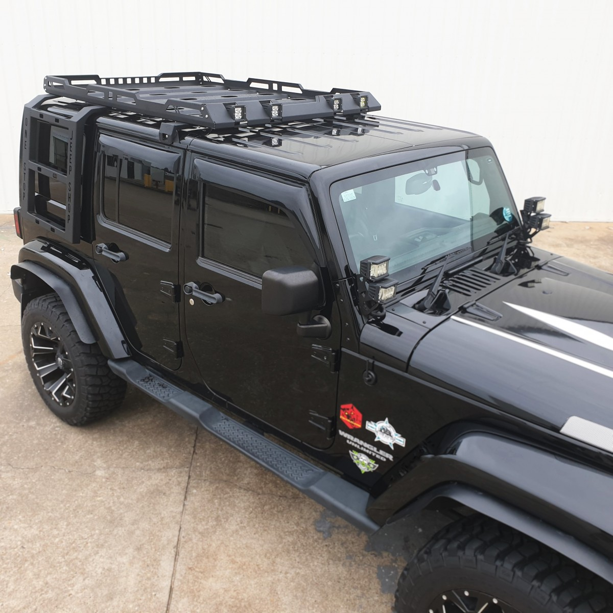 Osjs Jeep Wrangler Jk Roof Rack Stealth Series