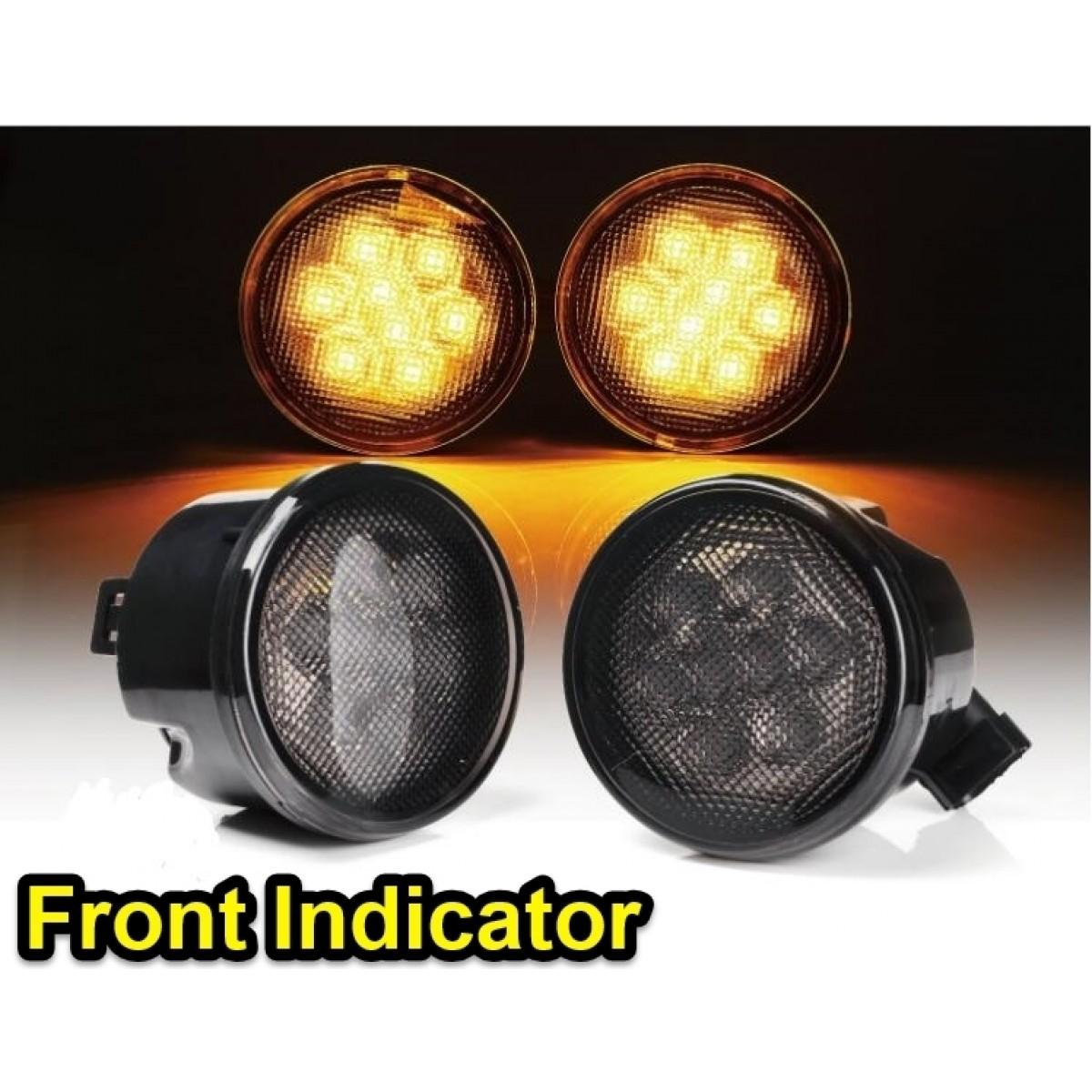 Osjs Jeep Wrangler Jk Tinted Front Indicator Lights
