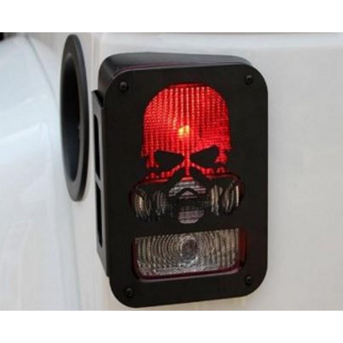 Skull Taillight Cover