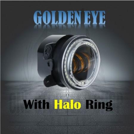JEEP JK 4 inch Fog Light - GOLDEN EYE HALO LED