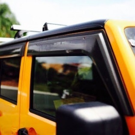 Jeep Wrangler Weathershields