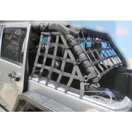 Jeep Wrangler JKU 4 Door Cargo Net