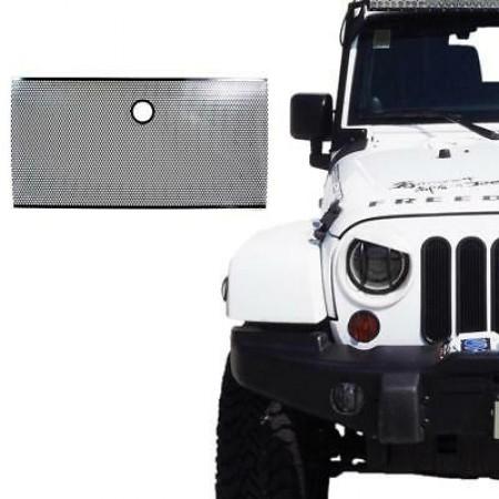 Jeep Wrangler JK  Flat Steel Mesh Grille Insert
