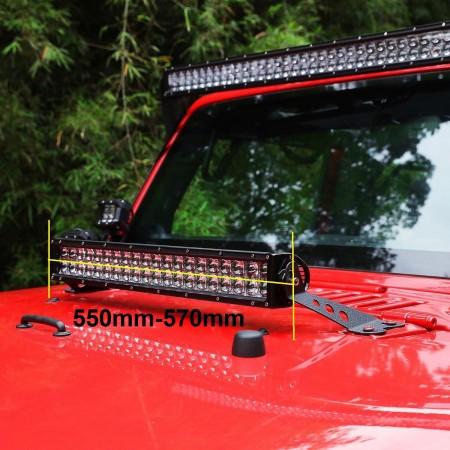 22 inch Light Bar Bonnet Bracket