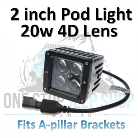20 Watt 4D Pod Lights