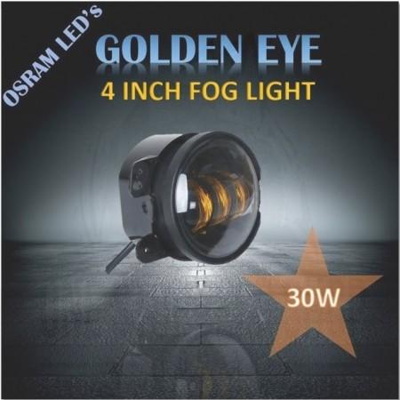 """4"""" GOLDEN EYE LED Fog Light"""