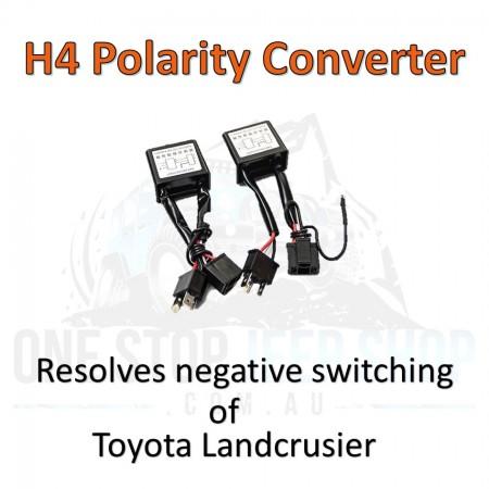 "H4 LED Converter Toyota Landcrusier  7"" Round Headlights"
