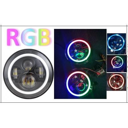 RGB Cree 45watt Headlights