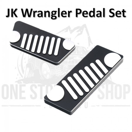JK Wrangler Billet Aluminium Pedal Assembly