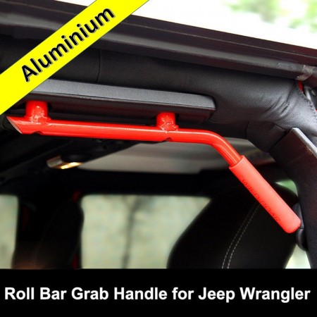 Aluminium Grab Handles - REAR RED