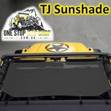 TJ  Wrangler Mesh Sun Shade