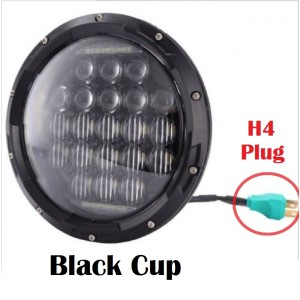 Jeep LED Headlights-Black Bee 5D LED