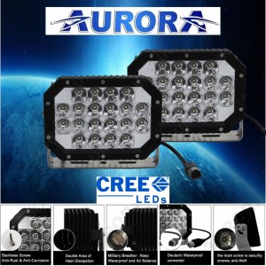 AURORA 6 inch Quad Driving Lights