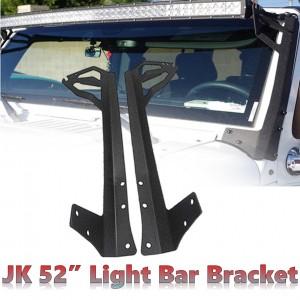 "Jeep Wrangler JK 2007 - 2018  52"" Light Bar Bracket - Brahman Series"
