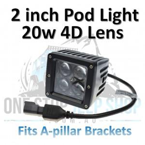 20 Watt 4D Pod Lights