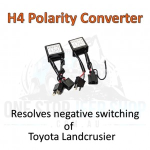 "H4 LED Converter Toyota Landcrusier  7"" Round Headlights"