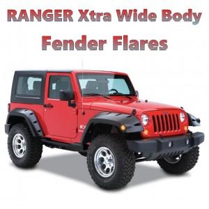 Jeep Wrangler JK - Xtra Wide Body Fender Flares  2007-2018