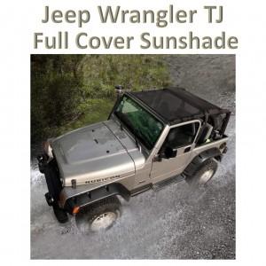Jeep Wrangler TJ 1997- 2006   ECLIPSE: Full Mesh Sun Shade