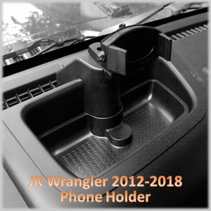 JK Wrangler Mobile Phone Holder