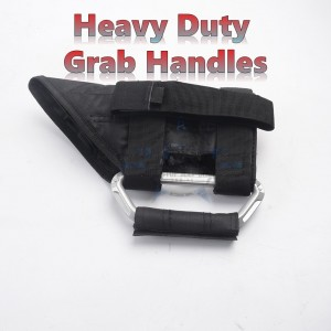 Jeep Wrangler - Heavy Duty Grab Handle BLACK