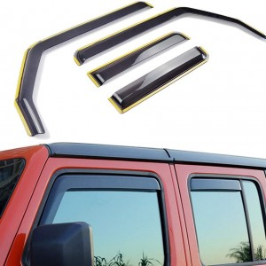Jeep Wrangler JK Weathershields 4 DOOR 2007-2018