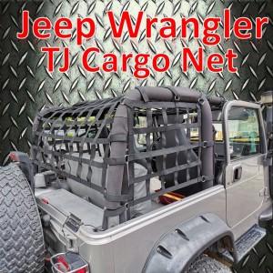 Jeep Wrangler TJ Cargo Net