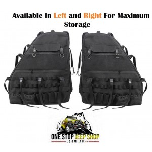 JK Wrangler 4dr Storage Saddlebag