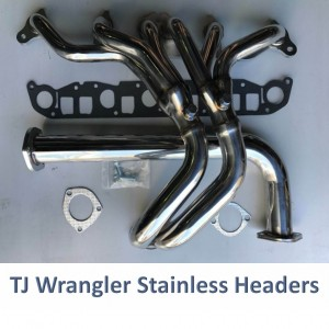 Jeep Wrangler TJ Exhaust Headers