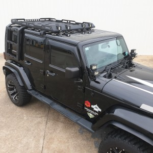 Jeep Wrangler JK Roof Rack- STEALTH Series