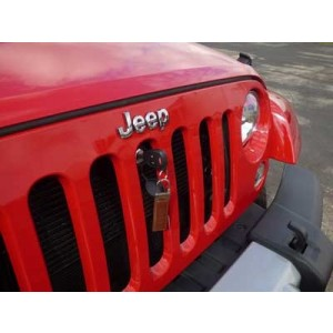 BOLT Lock Australia Jeep Wrangler Bonnet Lock