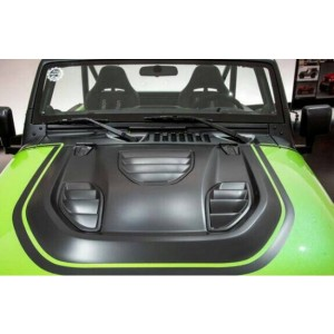 JEEP WRANGLER- JK Hurricane Fury Vented Bonnet