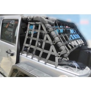 Jeep Wrangler JKU 4 Door Cargo Net
