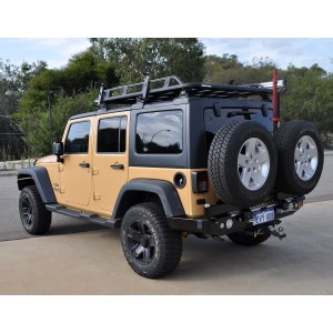 OUTBACK ACCESSORIES JK WRANGLER DUEL TYRE CARRIER
