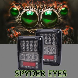 SPYDER EYES  Tail Lights Jeep JK Wrangler
