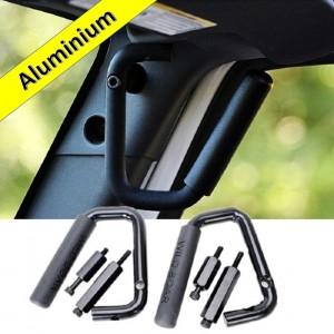 Aluminium Grab Handles - FRONT BLACK