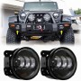 Jeep Wrangler JK 4 inch Fog Light - LED BLACK