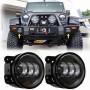 Jeep Wrangler JK 4 inch Fog Light - LED BLACK